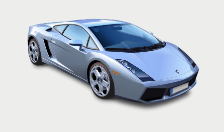 Realistic car illustration using Inkscape.
