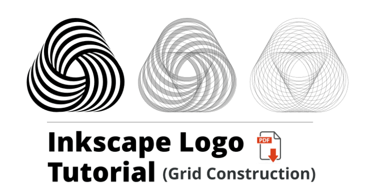 Inkscape Vector Logo Tutorial [23 Detailed Images with PDF]