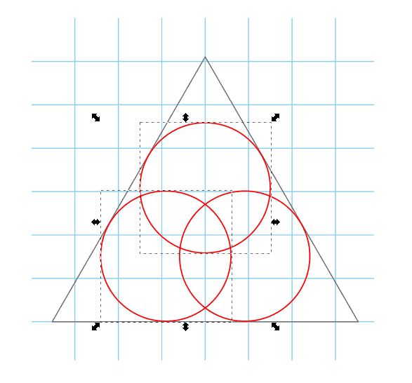 Select circle and interpolate them