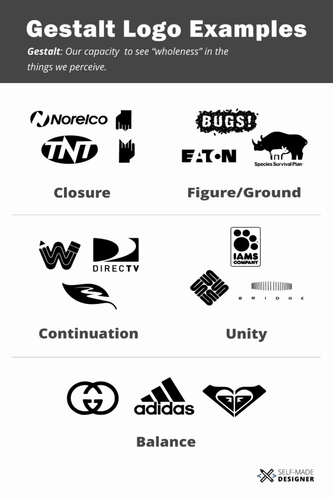 15 Real Life Gestalt Logo Examples