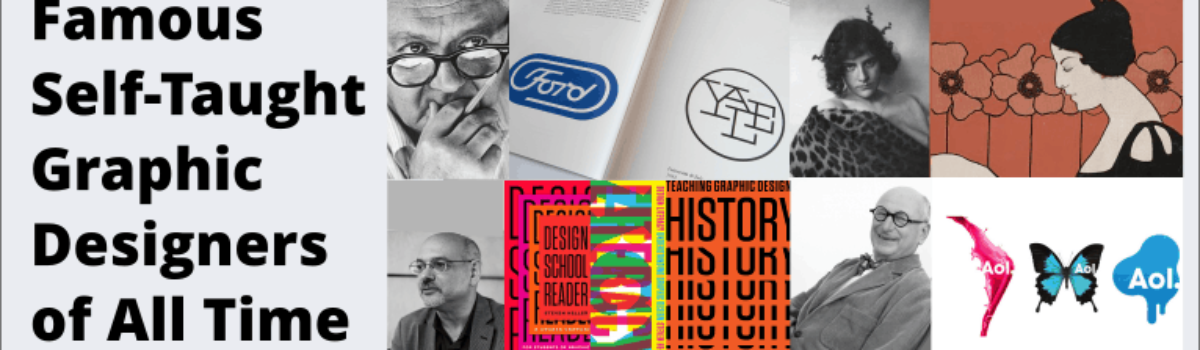 13 Famous Graphic Designers You Didn't Know Were Self-Taught