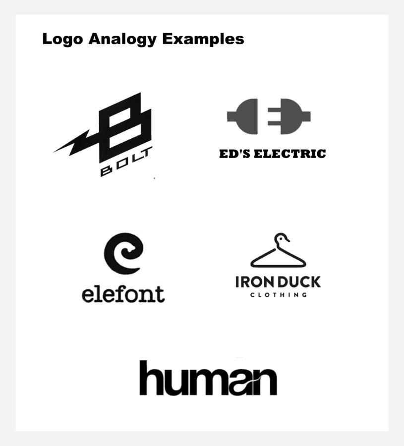 Logo analogy examples