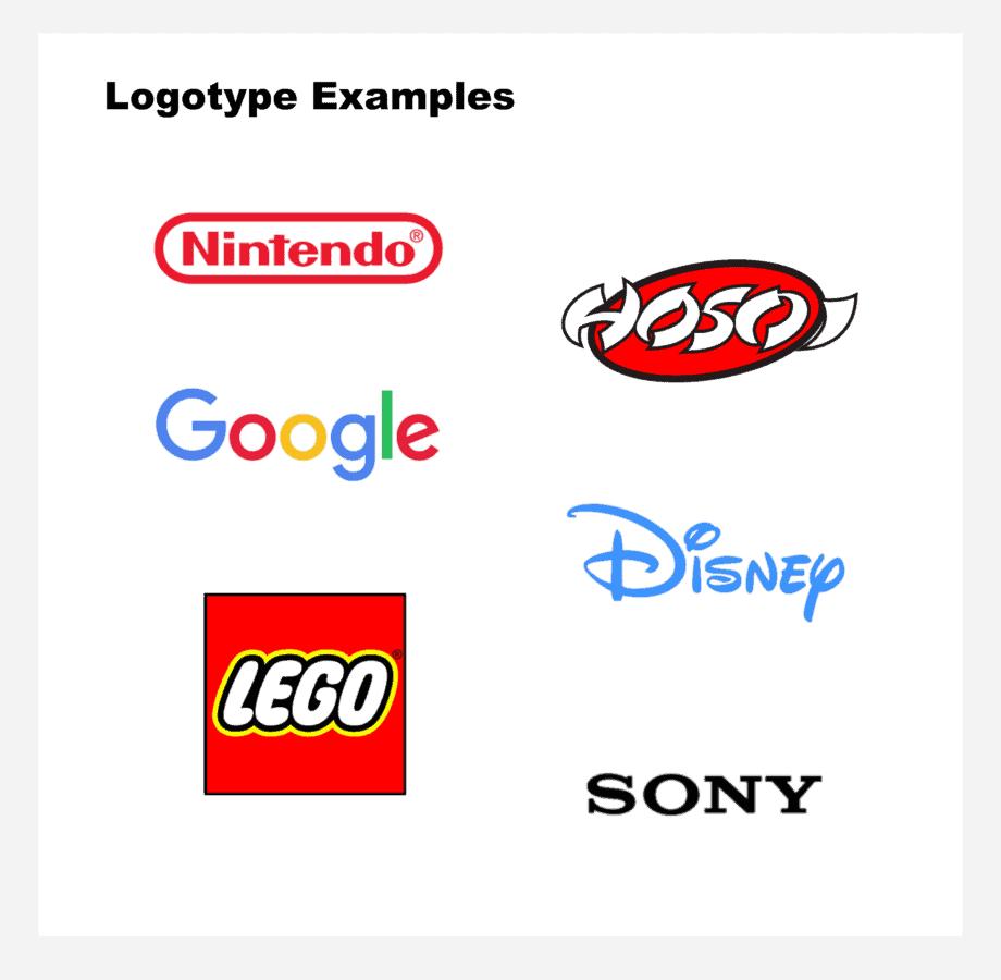 Famous logotypes