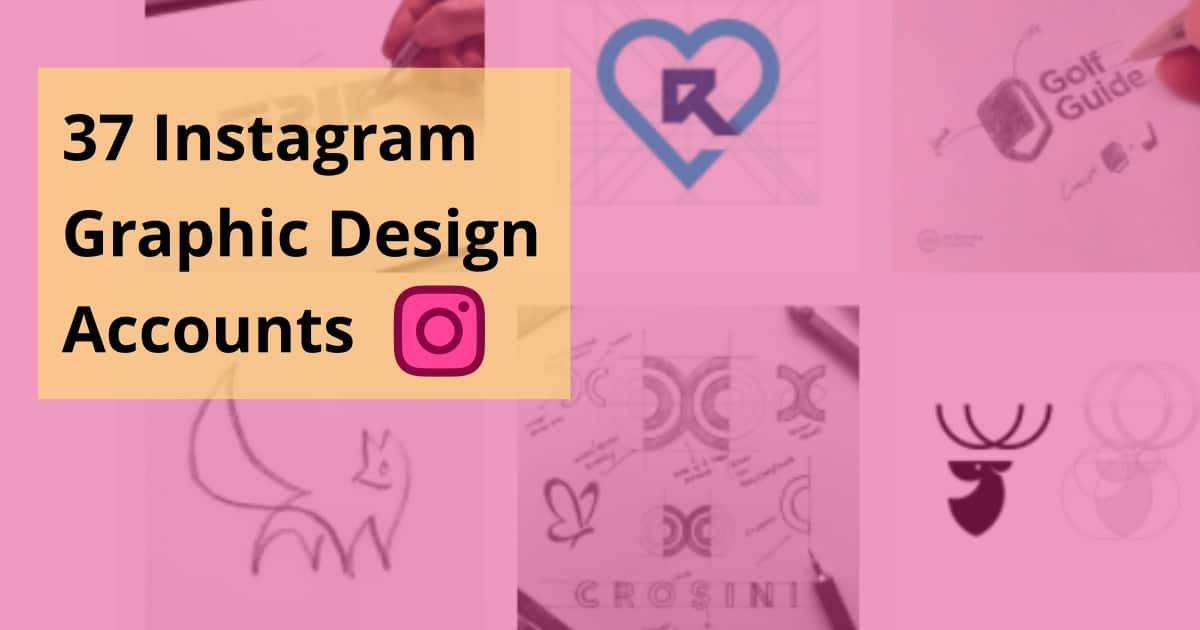 37 Instagram Graphic Design Accounts for Learning and Inspiration (2021)