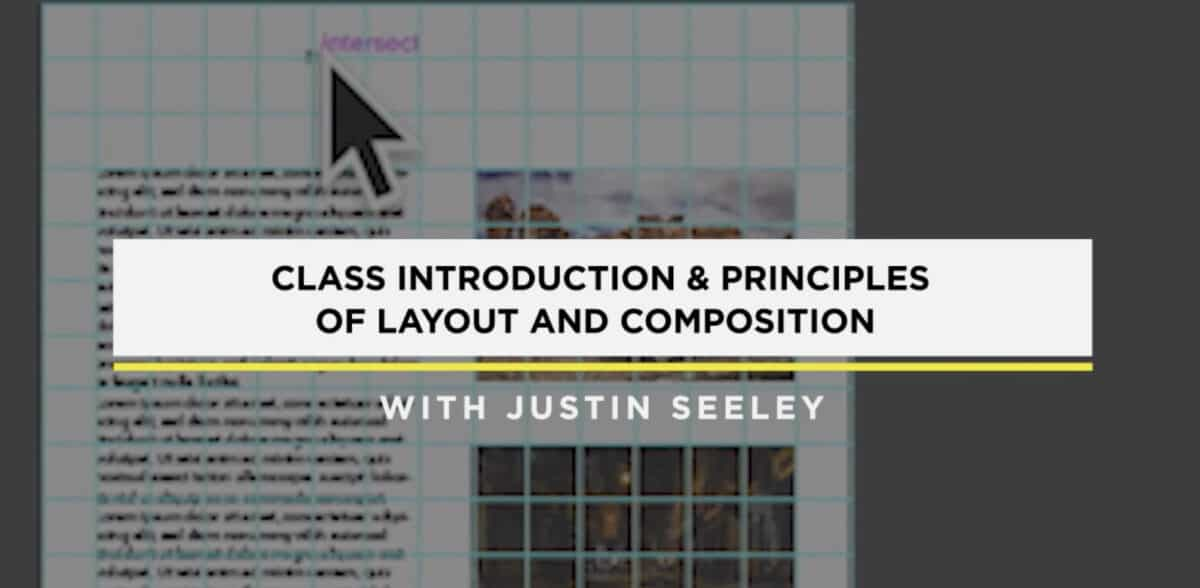 Design Fundamentals Layout and Composition Course on Creative Live.