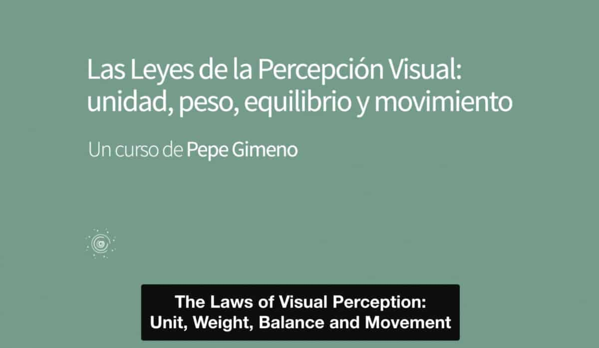 The Laws of Visual Perception: Unit, Weight, Balance and Movement on Domestika.