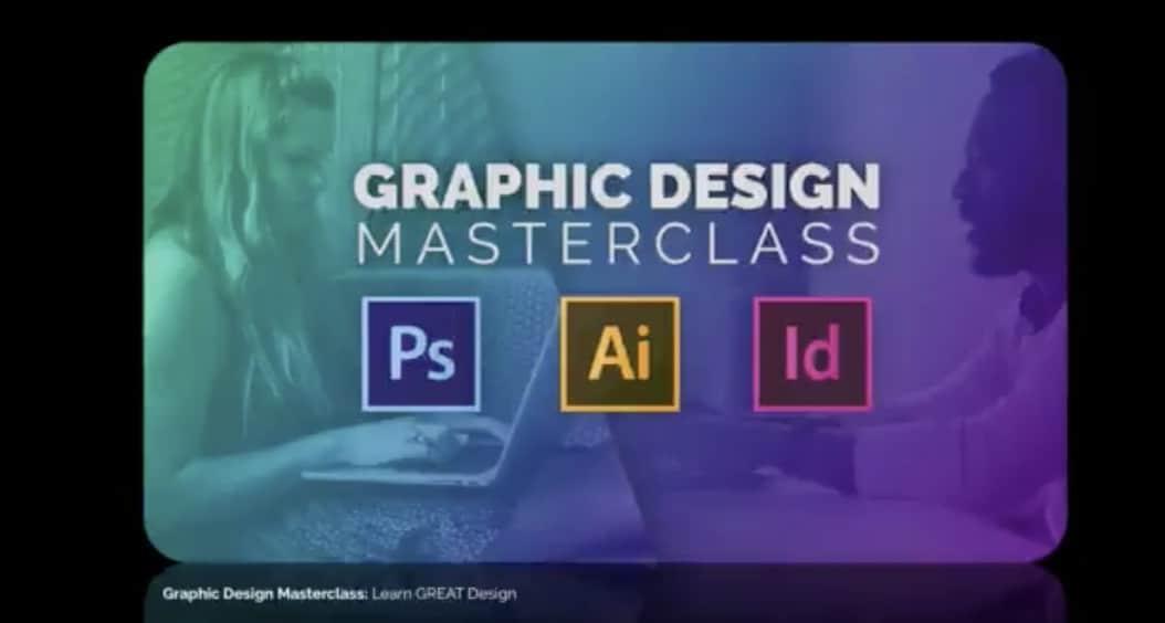 Graphic design masterclass on Udemy