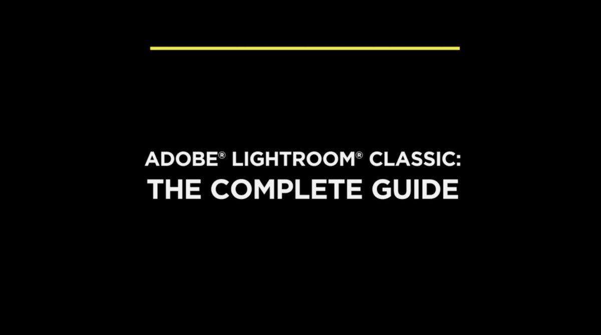 Adobe Lightroom Classic Creative Cloud course on Creative Live.