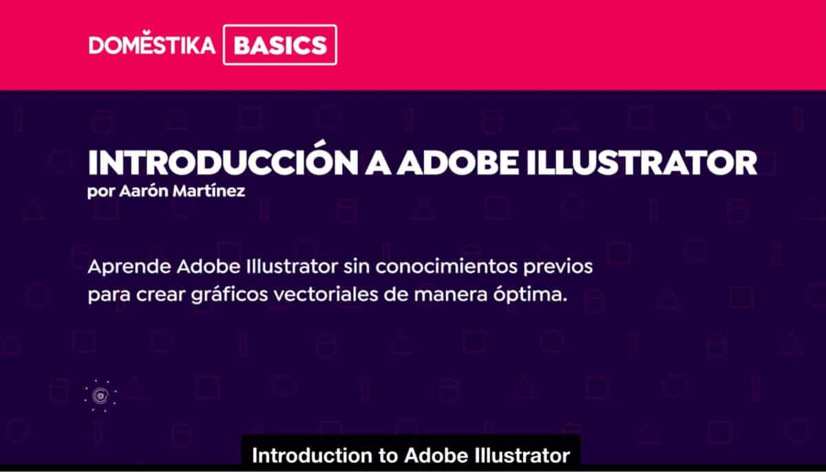Introduction to Adobe Illustrator course on Domestika.