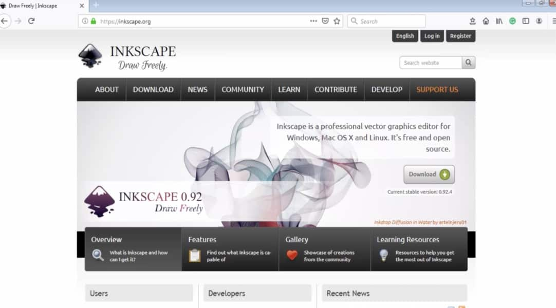 Inkscape beginners course on Udemy.