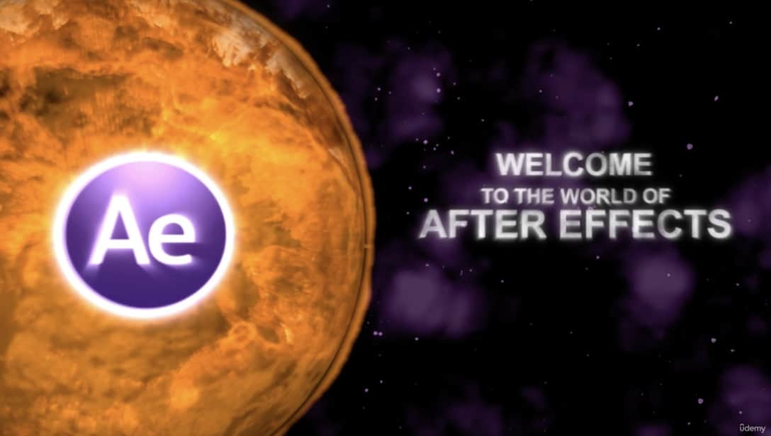 Adobe After Effects course on Udemy.